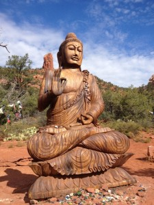 Buddha Sculpture in Sedona