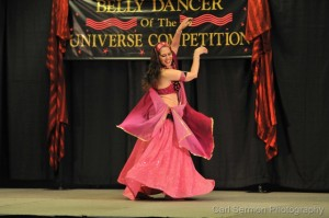 Inara competing in Belly Dancer of the Universe contest