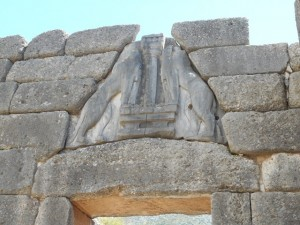 Lions Gate at Ancient Mycenae