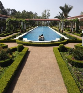 Outer Peristyle of the Getty Villa