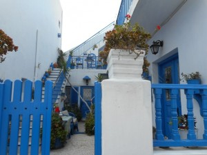 The Classic White and Blue of Santorini