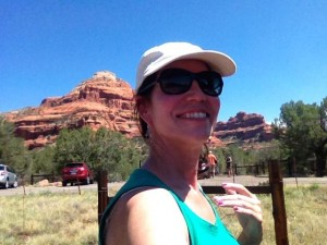 Selfie at Boynton in Sedona